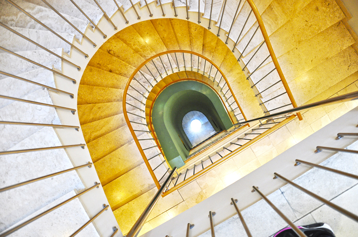 Wien_Hotel_Das_Triest_Stiegenhaus