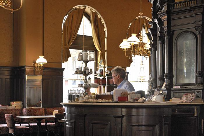 Cafe Sperl - Kassa ( 6., Gumpendorfer Strafle 11)