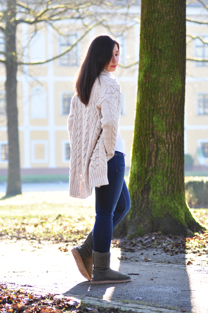 How to style a white cotton blouse outfit weiße baumwollbluse 1-4