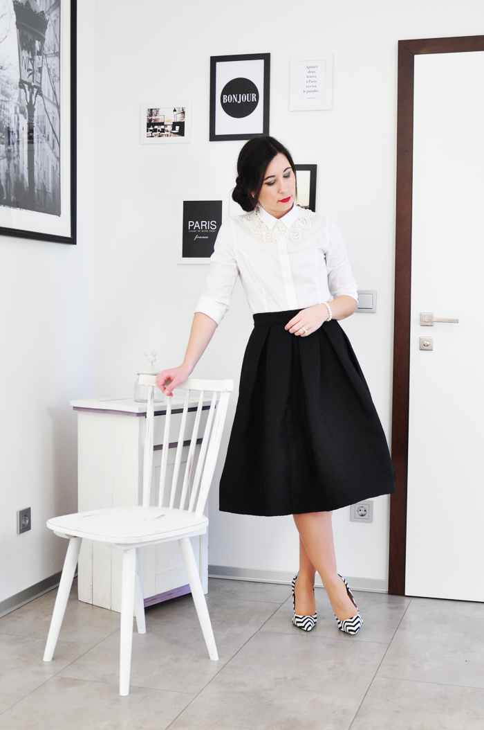 How to style a white cotton blouse outfit weiße baumwollbluse 2-3