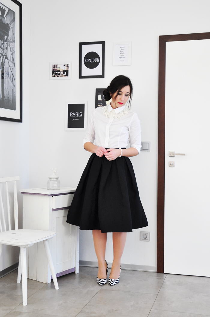 How to style a white cotton blouse outfit weiße baumwollbluse 2-4