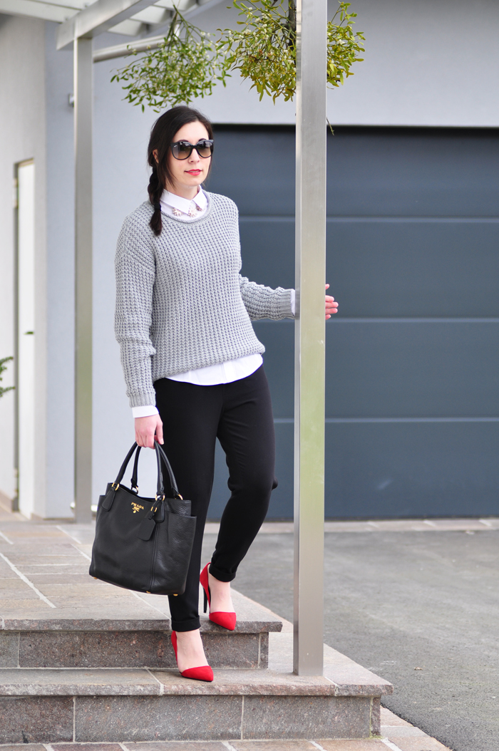 How to style a white cotton blouse outfit weiße baumwollbluse 3-1