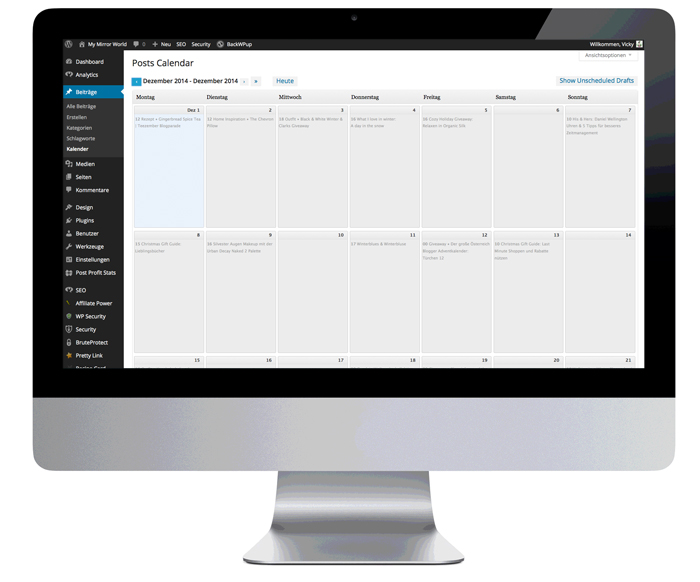 wordpress-calender