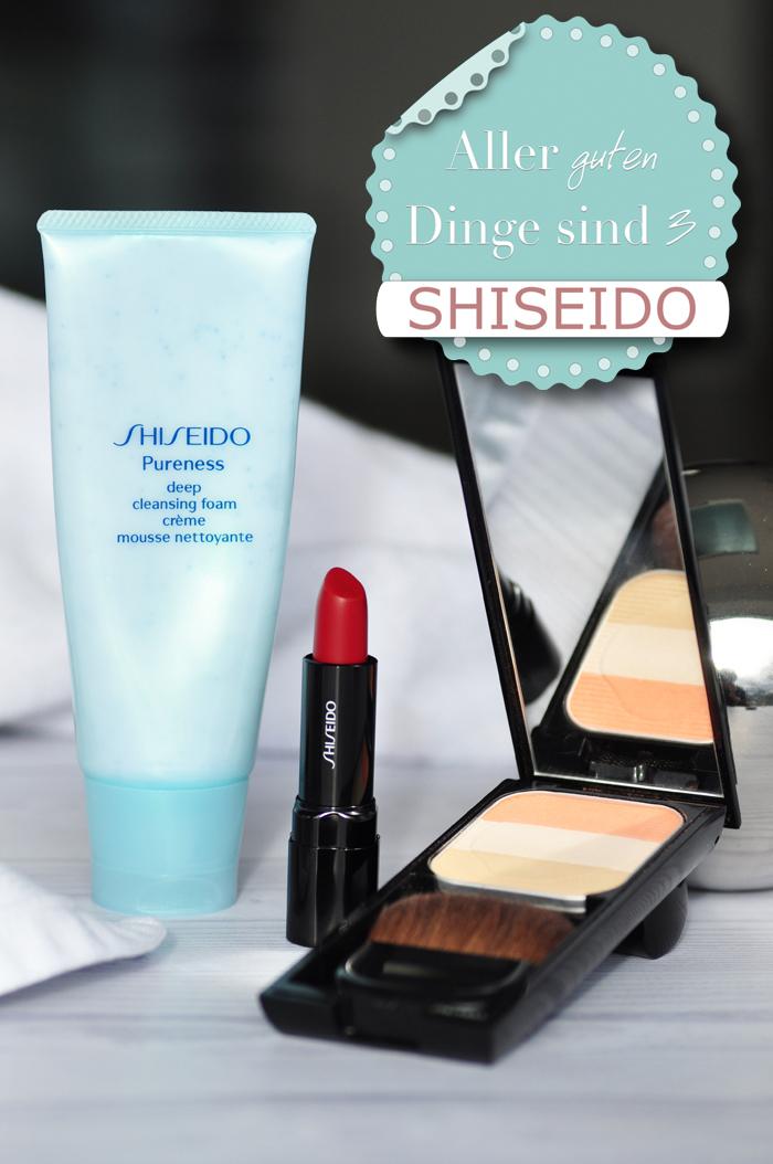 Shiseido Lieblingprodukte 1