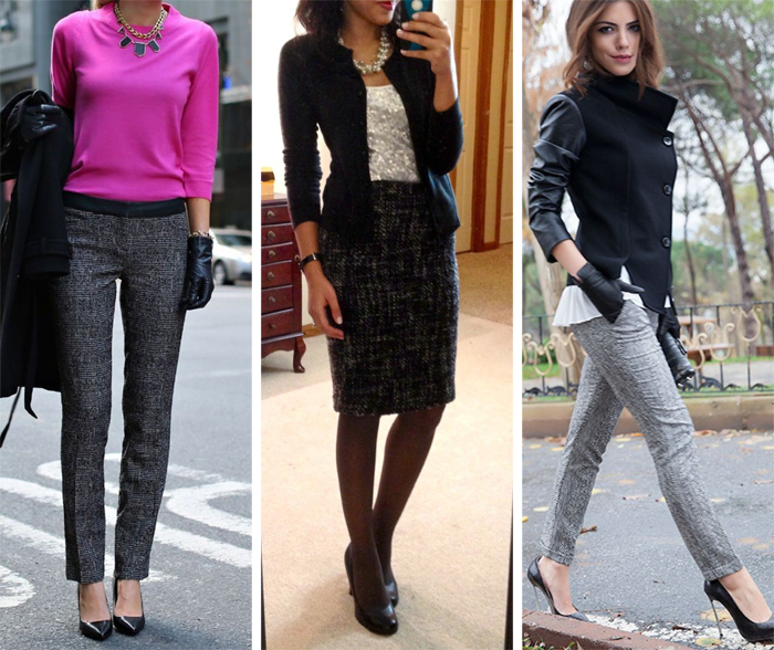 Tweed Outfit Inspiration 1