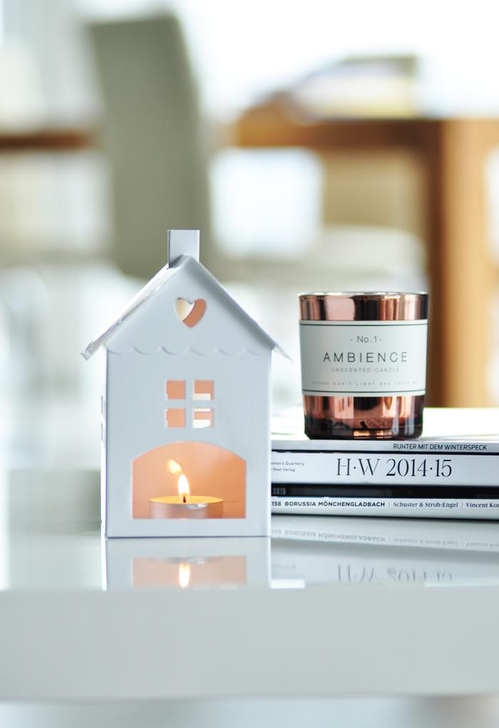 Home Inspiration Kupfer Kerze