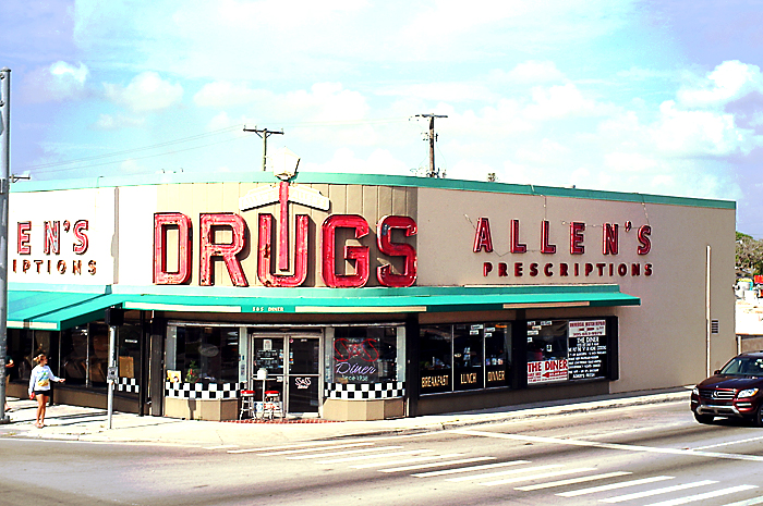 Drugstore in Coconut Grove.