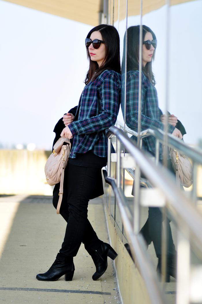 Outfit Zara Karohemd