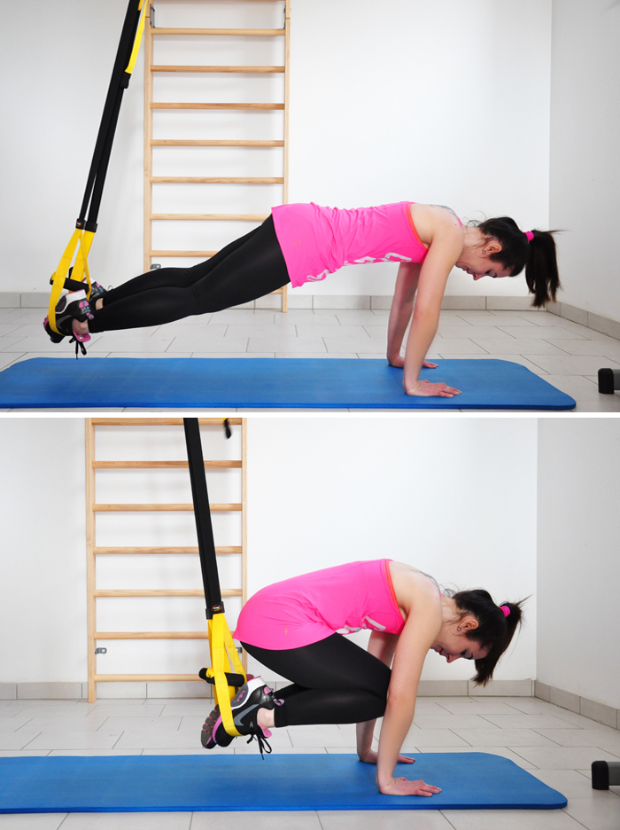 TRX Training Uebung A
