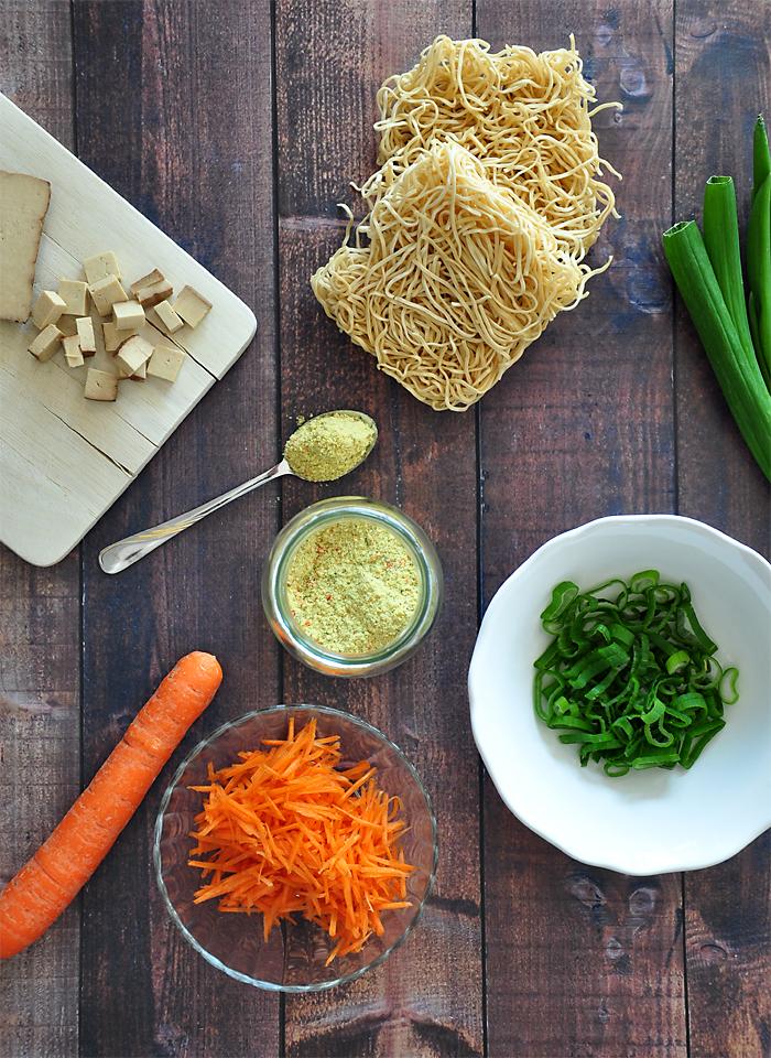 gesundes Essen zum Mitnehmen ins Buero Healthy Instant Noodles 1