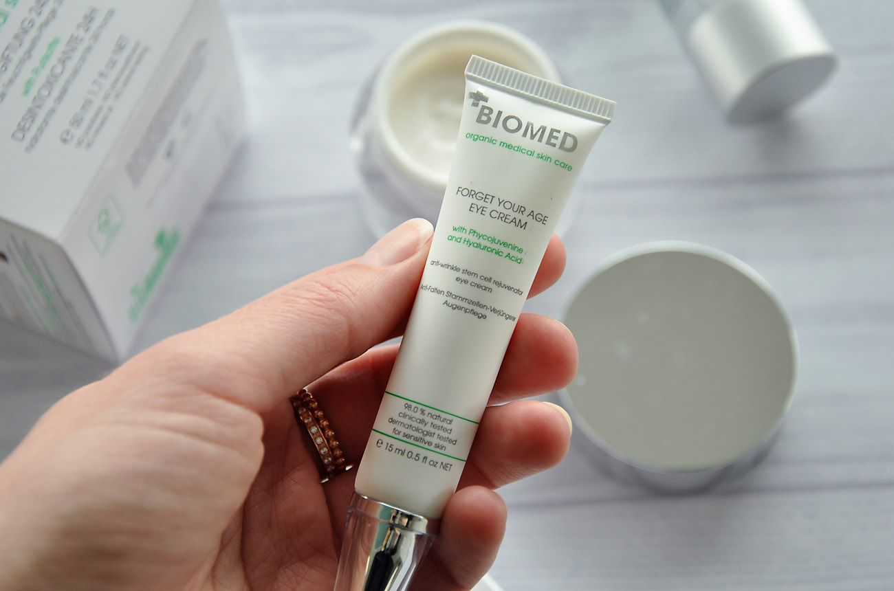 Biomed Forget Your Age Augencreme Review