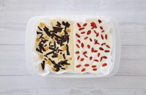 Joghurt Eis Riegel mit Alpro Sojajoghurt 4