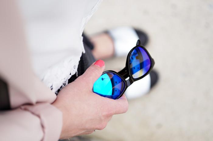 Northweek Sonnenbrille blau verspiegelt 2