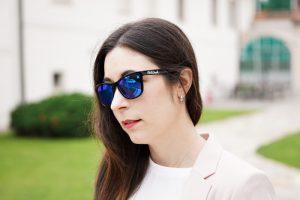 Northweek Sonnenbrille blau verspiegelt