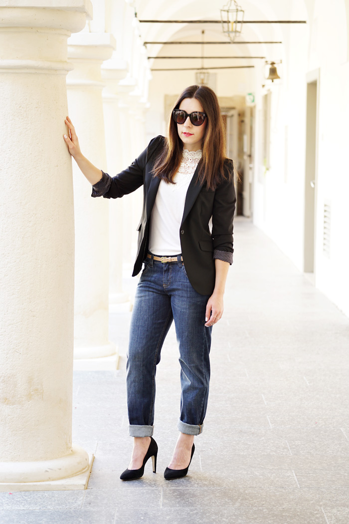 Boyfried Jeans Business Outfit Lifestyle Blog Graz 2
