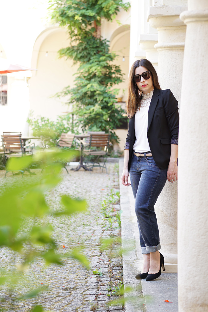 Boyfried Jeans Business Outfit Lifestyle Blog Graz 4