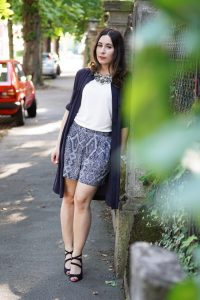 How to Style Blusenkleid