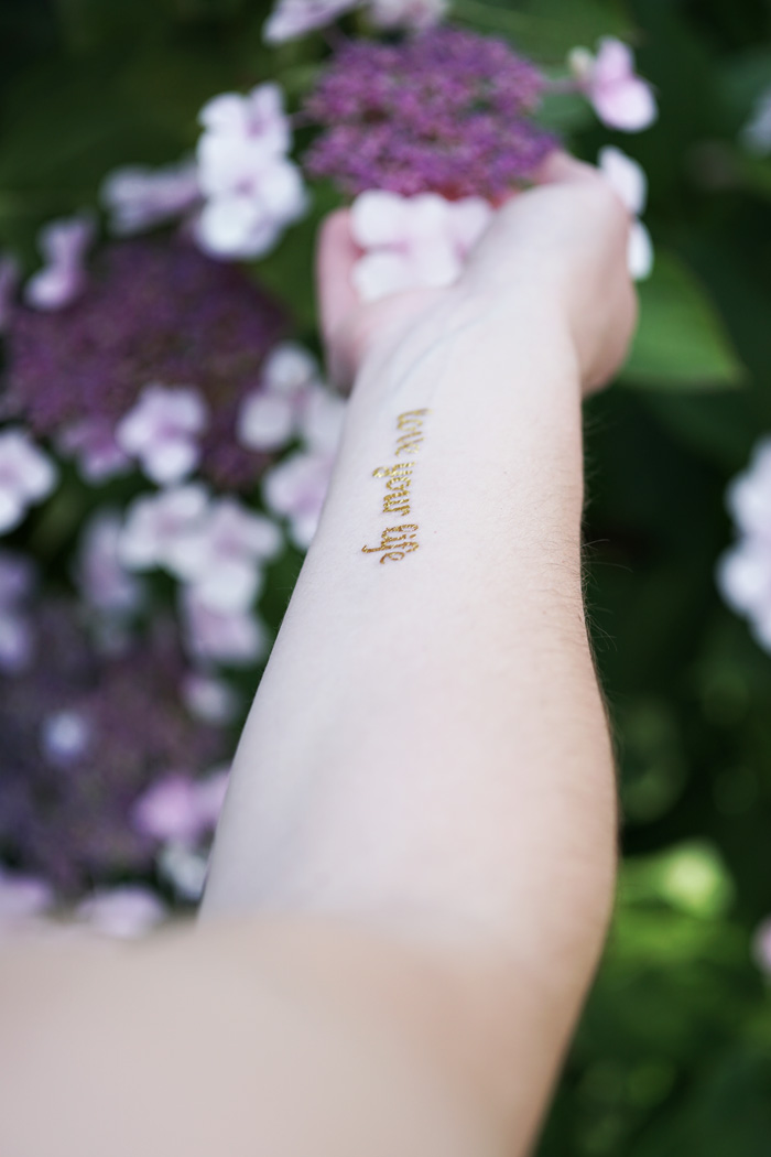 goldene flash tatoos