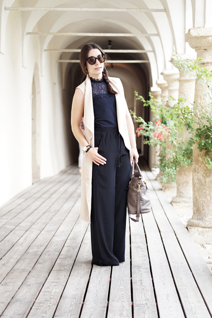 7 ways to wear Sommertrench Palazzo Hose