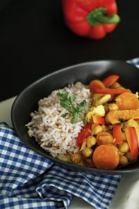 Kokos Curry mit Kichererbsen Rezept 2