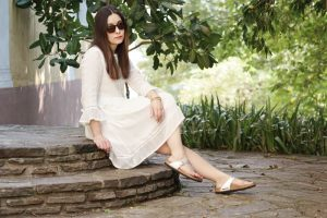 Outfit Birkenstock Gizeh Silber 1