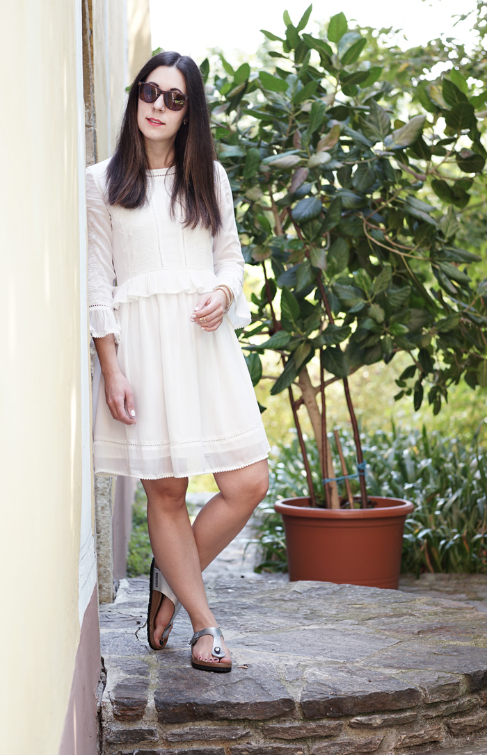 Outfit Birkenstock Gizeh Silber 6