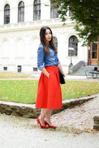 7 ways to wear denim shirt 1