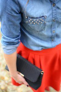 7 ways to wear denim shirt 3