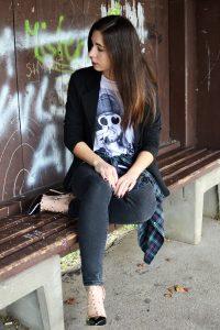 Outfit Grunge Kurt Cobain Nirvana Shirt 2