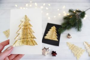 DIY selbstgemachte Weihnachtskarten 3