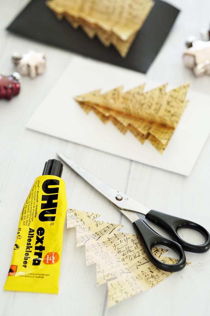 DIY selbstgemachte Weihnachtskarten 4