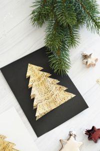 DIY selbstgemachte Weihnachtskarten 5