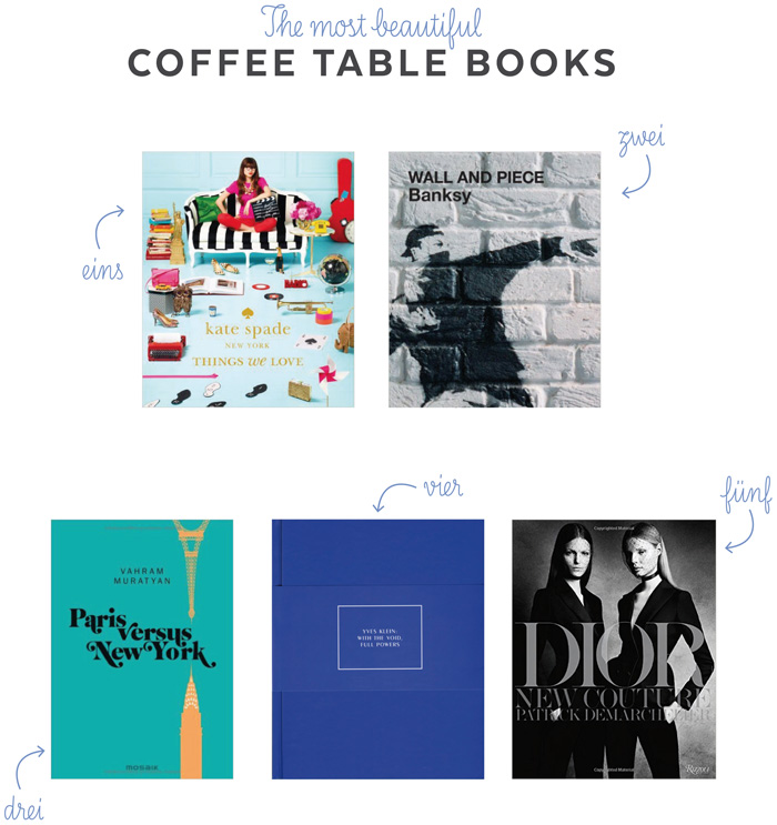 Die schoensten Coffee Table Books