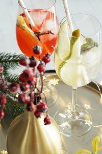 fairy light jars winter cocktails 9