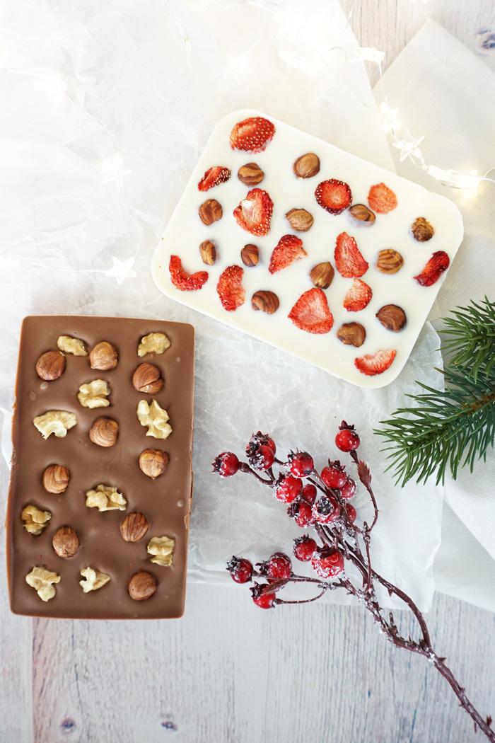 selbstgemachte Schokolade 4