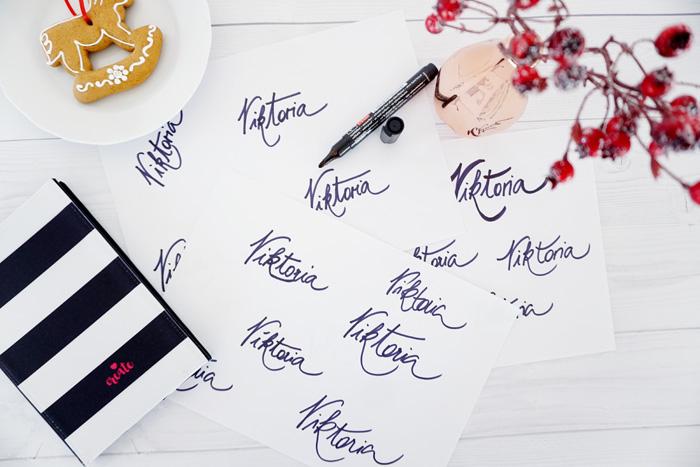 Blog Logo in Handschrift