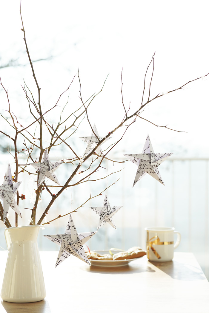 Diy Christbaumschmuck Origami Weihnachtssterne My Mirror World