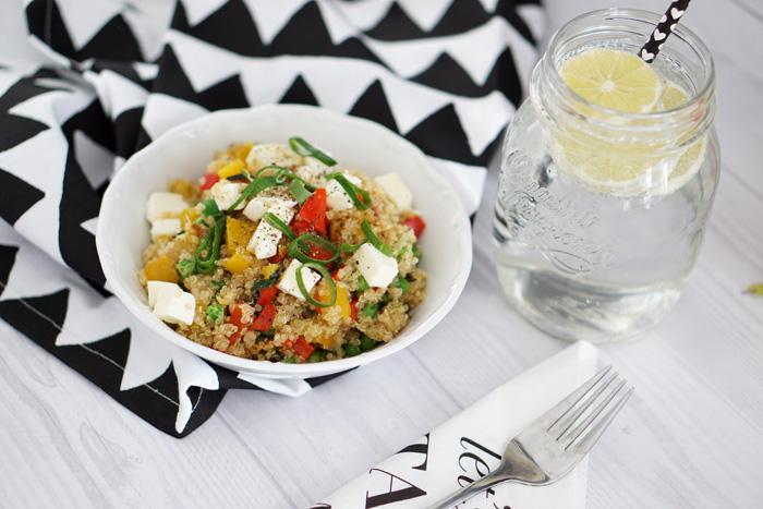 rezept warmer quinoa Salat 3