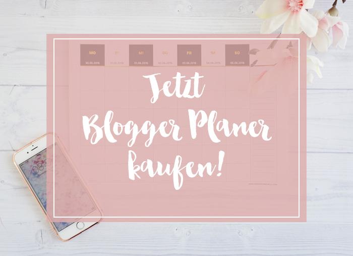 Blogger Planer 2016 kaufen