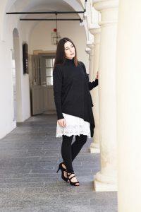 outfit spitzenkleid fashion blog graz 1