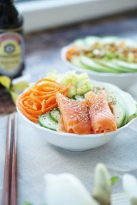 Food Blog Oesterreich Sushi Bowl Rezept 1