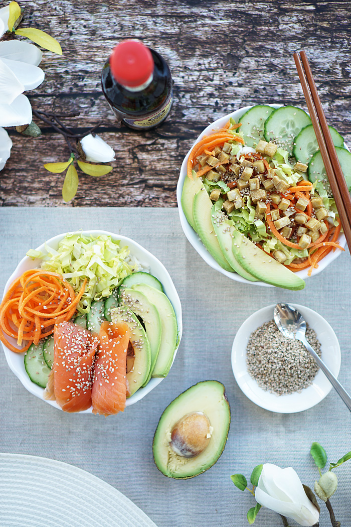 Food Blog Oesterreich Sushi Bowl Rezept 2