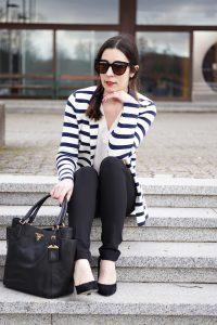 Streifenblazer Office Outfit 5