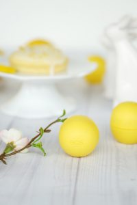 Zitronen Donut Rezept eos lemon drop lipbalm 3