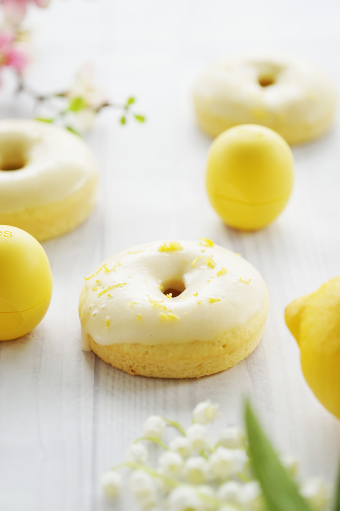 Zitronen Donut Rezept eos lemon drop lipbalm 5