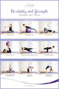 laffinite_flexibility_strength_fitness_poster