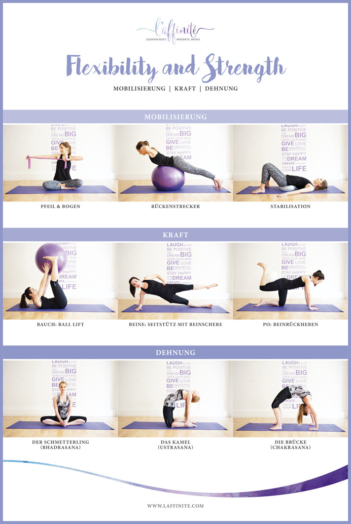 laffinite_flexibility_strength_fitness_poster