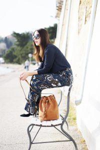Fashionblog Oesterreich Outfit Wide Leg Hose 1