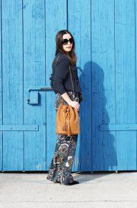 Fashionblog Oesterreich Outfit Wide Leg Hose 2