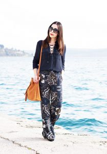 Fashionblog Oesterreich Outfit Wide Leg Hose 5
